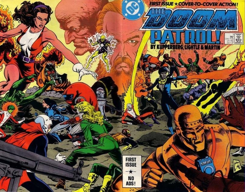 doom patrol DC comics