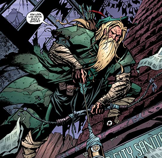 green arrow DC comics
