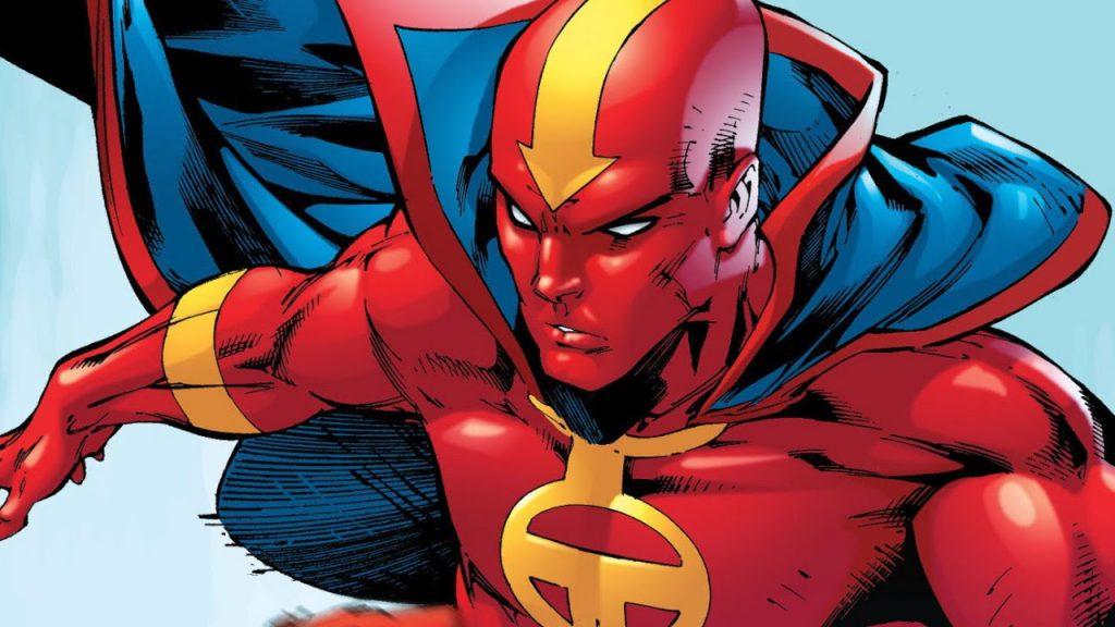 red tornado DC comics