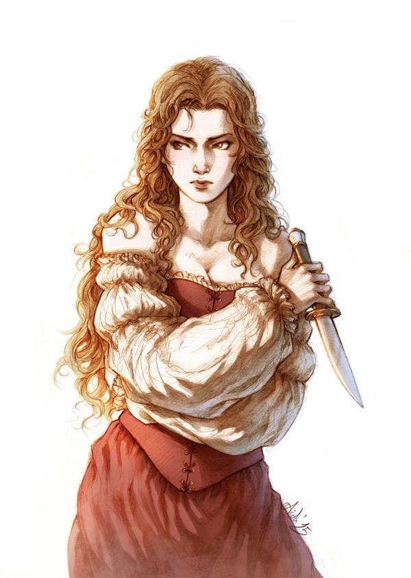 personajes femeninos lyne